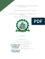 FACTORES QUE ALTERAN LA ACTIVIDAD CATALITICA DE LAS ENZIMAS.docx
