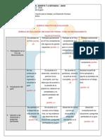 Rubrica Analitica de Evaluacion a1