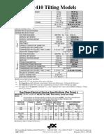 Catalogo Secadora AD-410 ADC