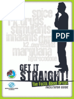 Get It Straight! The Facts About Drugs Facilitator Guide by The DEA