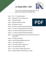 2016 IA East Summer Packet (1)