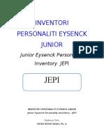 JEPI Inventori Personaliti Eysenck Junior-jepi
