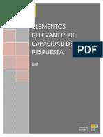 Elementos Relevantes de Capacidades de Respuesta