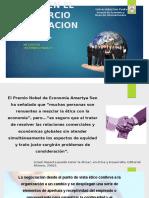 Negocios Internacionales Etica en El Comercio Internacional