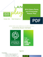 Metro Parks preliminary master plan