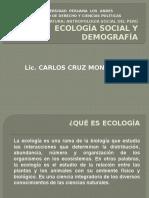 Ecología Social y Demografía