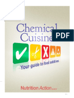 Chemical Cuisine Your Guide to Food Additives
