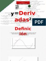 Ejemplo de aplicación de derivadas