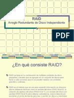 Raid - Sistemas Operativos
