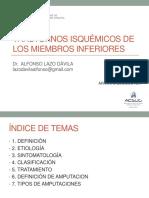 Transtornos Isquemicos de Los Miembros Inferiores