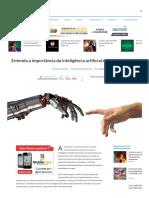 Entenda a Importância Da Inteligência Artificial e Como Ela Molda o Futuro - TecMundo