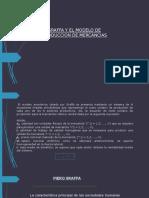 Sraffa y El Modelo de La Produccion de Mercancias