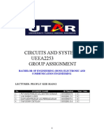 Circuit and Systems Assignment[1].Doc EC Y1S2
