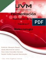 Vino Práctica Biotecnología