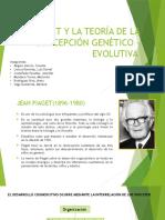 Piaget y La Teoría de La Concepción Genético
