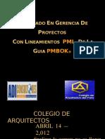 Diplomado en Gerencia de Proyectos Pmi - Piura