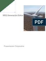 Presentación WEG Turbinas Eólicas(AGW)