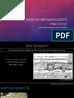 4 Site Survey and Excavation