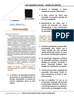 Minissimulado 0010 - Mapa Do Edital - InSS 2016 PORTUGUES