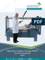 Hyperbaric Oxygen Theray (HBOT) Service Standards[1]
