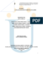 Actividad 1 Antecedentes de La Evaluación de Impacto Ambiental en Colombia