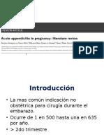 revision pancreatitis en embarazadas