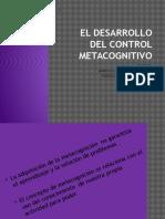 El Desarrollo Del Control Metacognitivo (1)