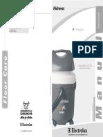 Manual Aspirador Eletrolux Hidrovac PDF