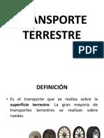 3 3 Transporte Terrestre