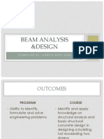 Beam Analysis &Design