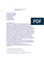 Manual de Procedimientos de Autopsias - Hospital Central de Asturias