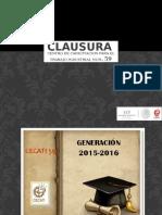 CLAUSURA 15-16