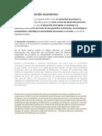 En El Perú Hemos Tenido La Última Década Un Crecimiento Económico Importante