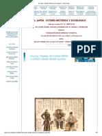El Japón - Estudio Histórico y Sociológico - Isidro Rojas