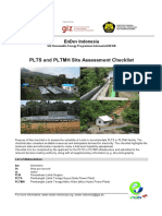 PLTMH EnDev Indonesia Site Criteria Checklists for PLTS and PLTMH