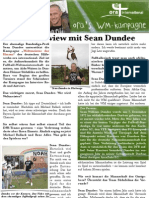 Interview Sean Dundee Juni 2010