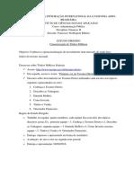 Estudo Dirigido - TESOURO DIRETO