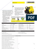 Idropulitrice a caldo Karcher HDS 551 C Eco