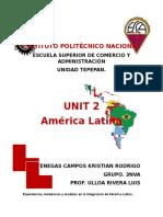 America Latina Unit 2