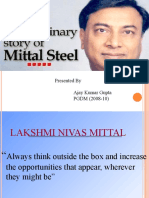 20317804 the Extraordinary Story of Mittal Steel