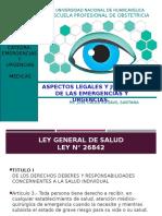 02 Aspectos Legales y Jurídicos de Las Emergencias y Urgencias.