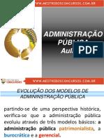 Administração Pública Aula 01