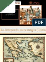 Clase 2 La Educación en La Grecia Antigua