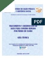 DESINFECCION AGUA - Nicaragua 2006 Cloro Liquido y en Polvo Xxxx