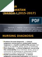 Dignosa Keperawatan (Nanda-i 2015-2017)Heru