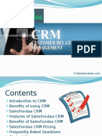 SalesFundaa CRM Software PPT