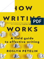 How Writing Works by Roslyn Petelin (Extract)