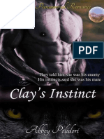 Abbey Polidori - Clay's Instinct (Wolf Call #2).epub