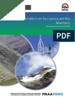 Cambio Clim Tico en La Cuenca Del R o Mantaro Baja