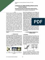 Design and Development of a Wall Climbin